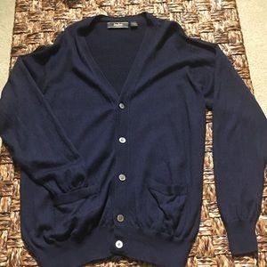 Men's Neiman Marcus Cardigan Sweater Size XL